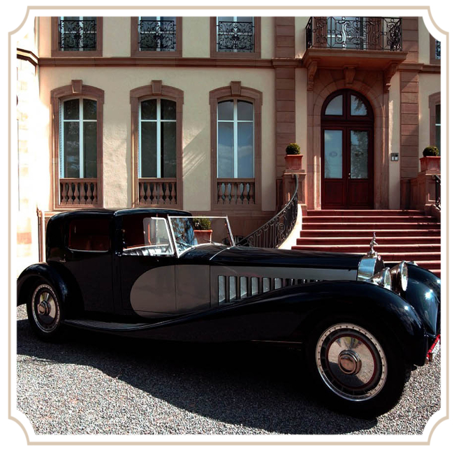 Bugatti Royale Kellner Coupe 1931 Бугатти Ройял