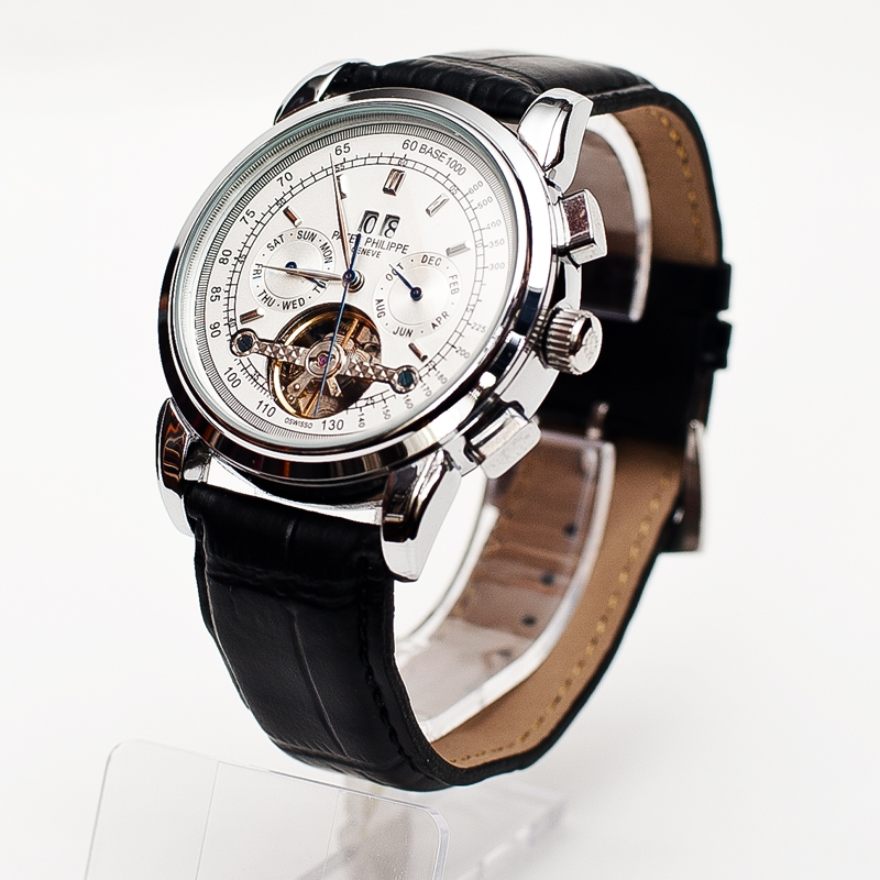 В интернет-магазине представлен большой ассортимент современных мужских часов patek philippe по доступным ценам, вы сможете подобрать модель наручных часов патек филипп, подходящей именно вам.