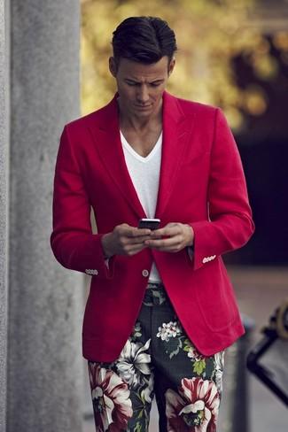 Модный мужской пиджак